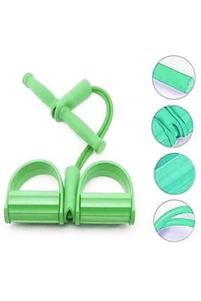 AVESSA Body Trimmer Direnç Lastiği Jimnastik Aleti Yeşil