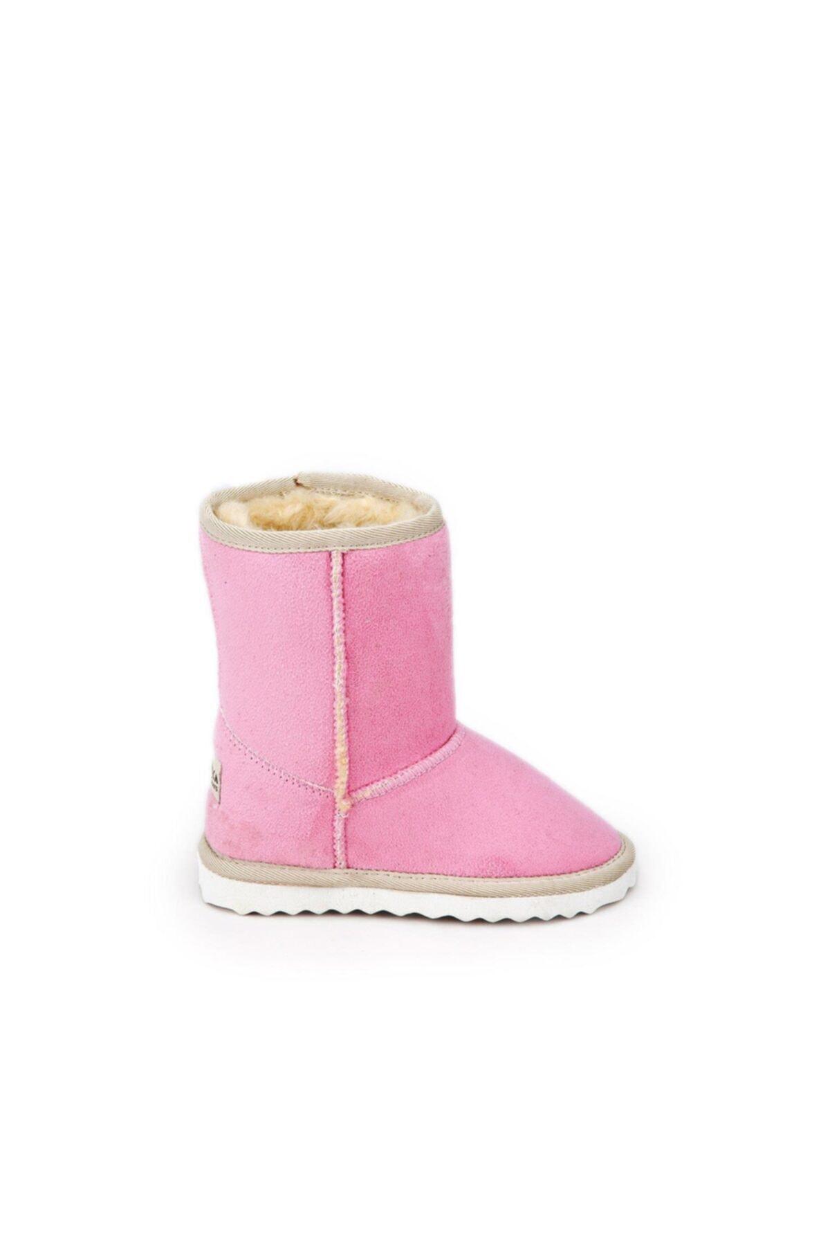 Antarctica Boots Klasik Içi Kürklü Eva Taban Süet Pembe Çocuk Bot 1