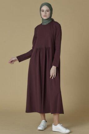 Armine Elbise 19ka9853 Mürdüm
