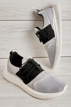Bambi Taş Gri Siyah Erkek Sneaker L1805192882