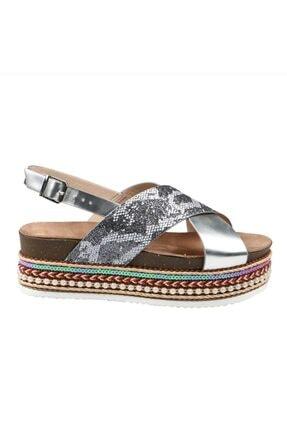 Hammer Jack Gümüş Sımlı Yılan Kadın Ayakkabı 151 301-1-z