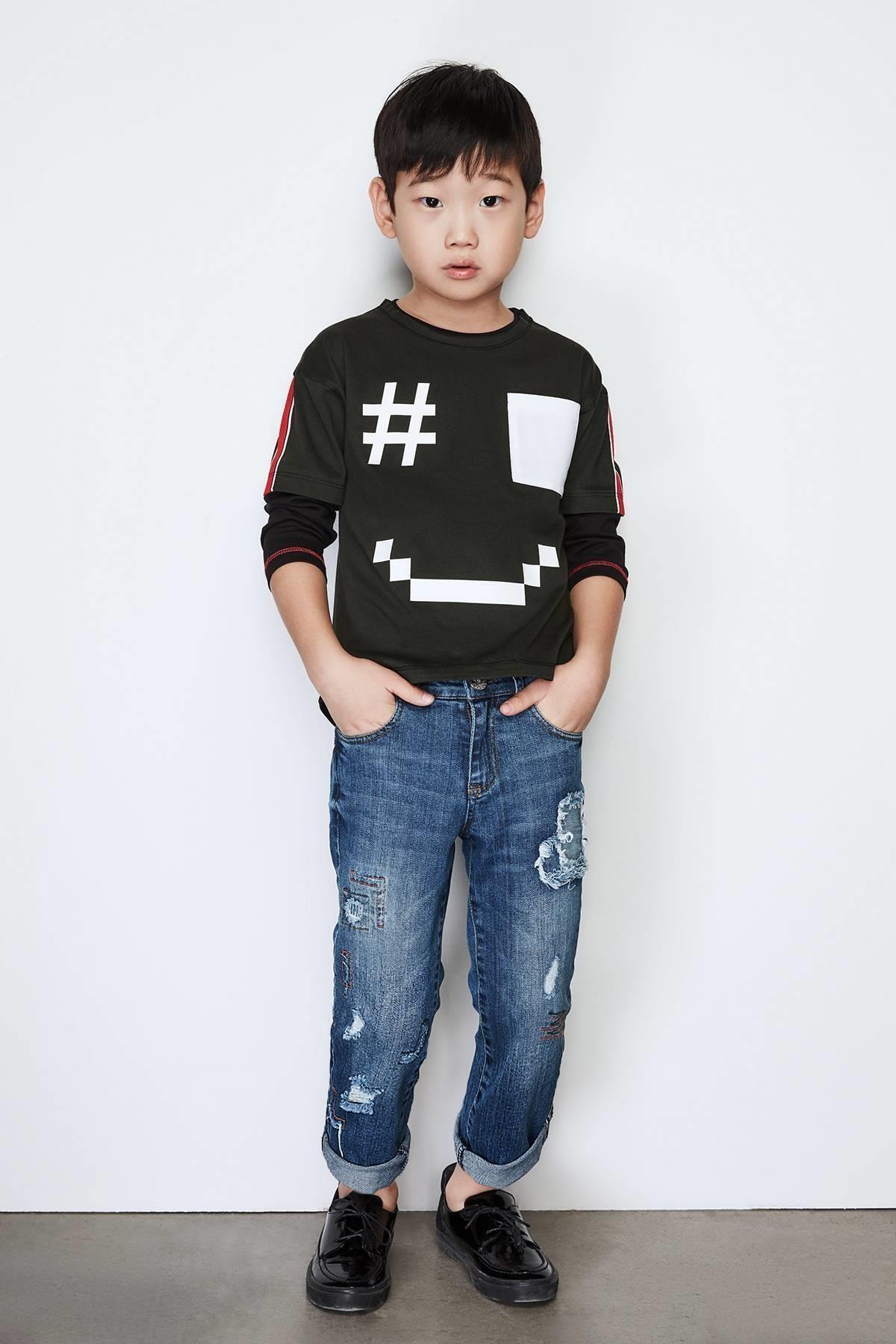 Nebbati Erkek Çocuk Jean Pantolon 1