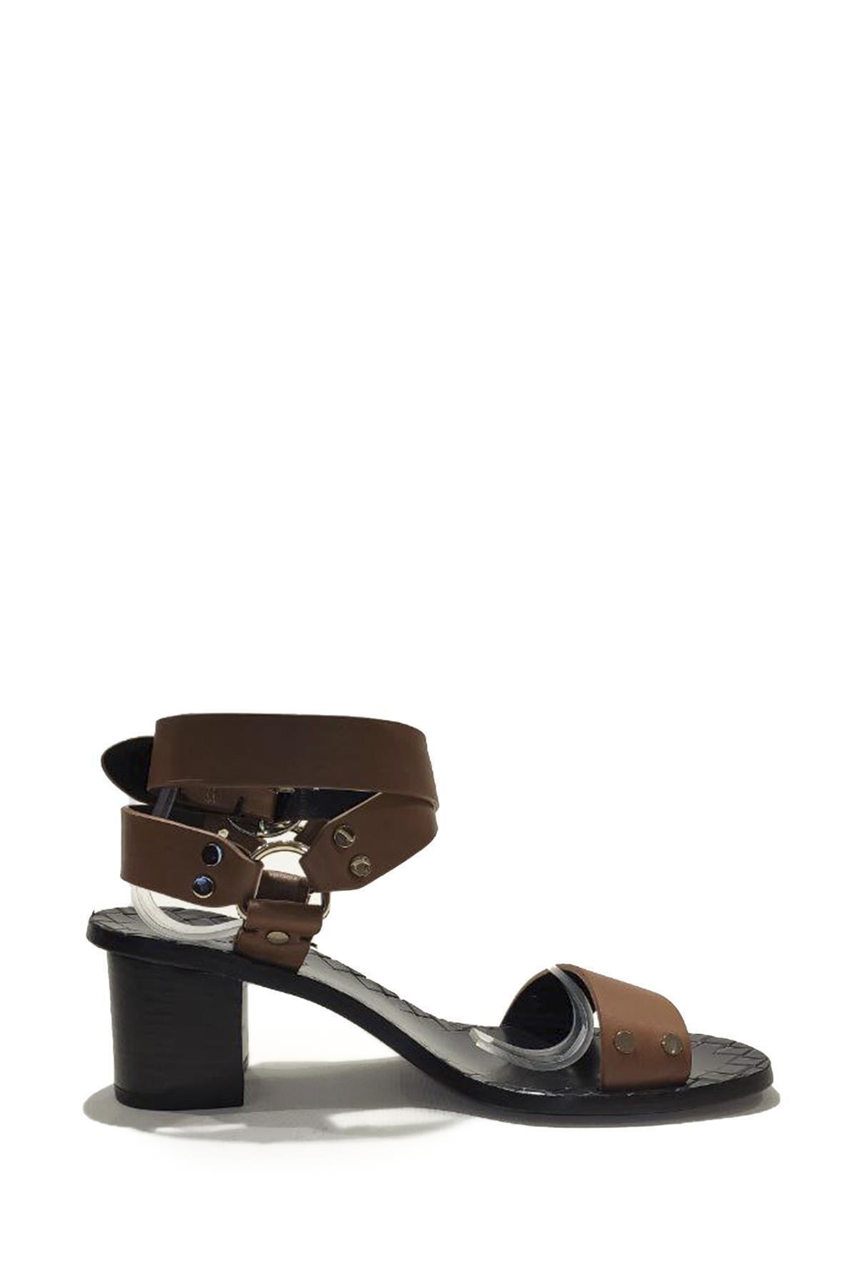 Nursace Hakiki Deri Klasik Topuklu Ayakkabı Nsc19y-a57506 Quetto 2