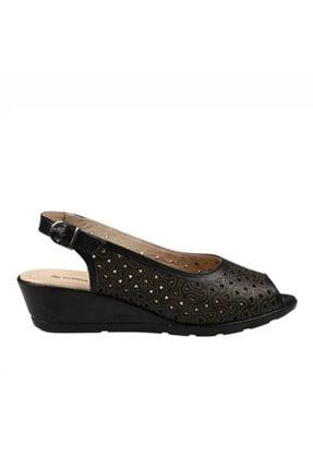Hammer Jack Siyah Kadın Terlik / Sandalet 378 33444-z