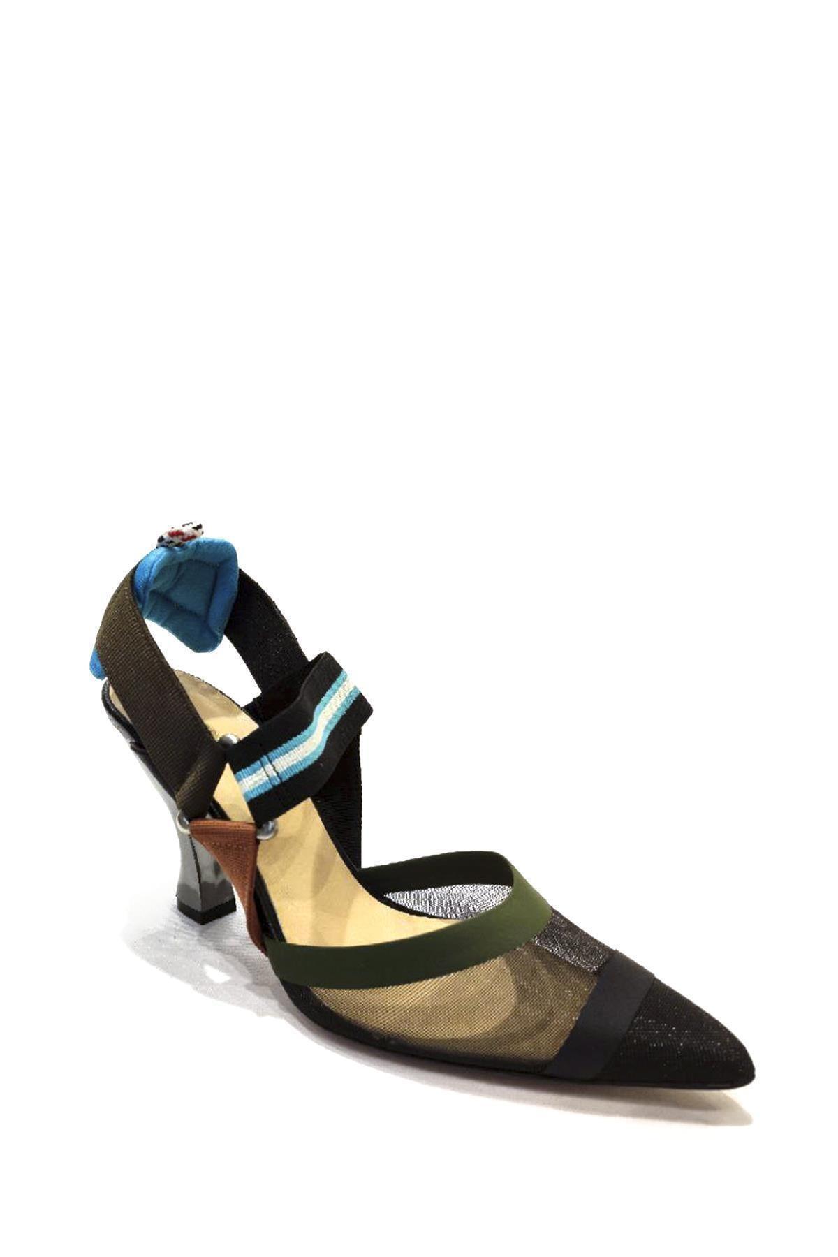Sofia Baldi Tekstil Malzemesi Klasik Topuklu Ayakkabı Sfb19y-423 01 1