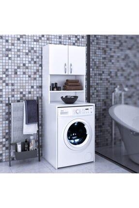 FORA Deep Banyo Dolabı Çamaşır Makinesi Dolabı
