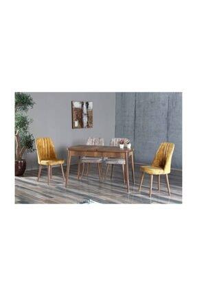 MYMASSA Elit Lüks Barok Mutfak Masası Takımı - Mutfak Masa Takımı - Polo Sandalye Takımı