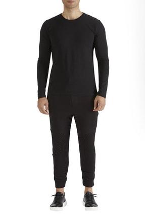 Efor Atp 02 Rahat Kesim Siyah Spor Pantolon