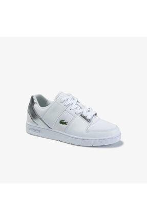 Lacoste Thrill 220 1 Sfa Kadın Beyaz - Gri Sneaker