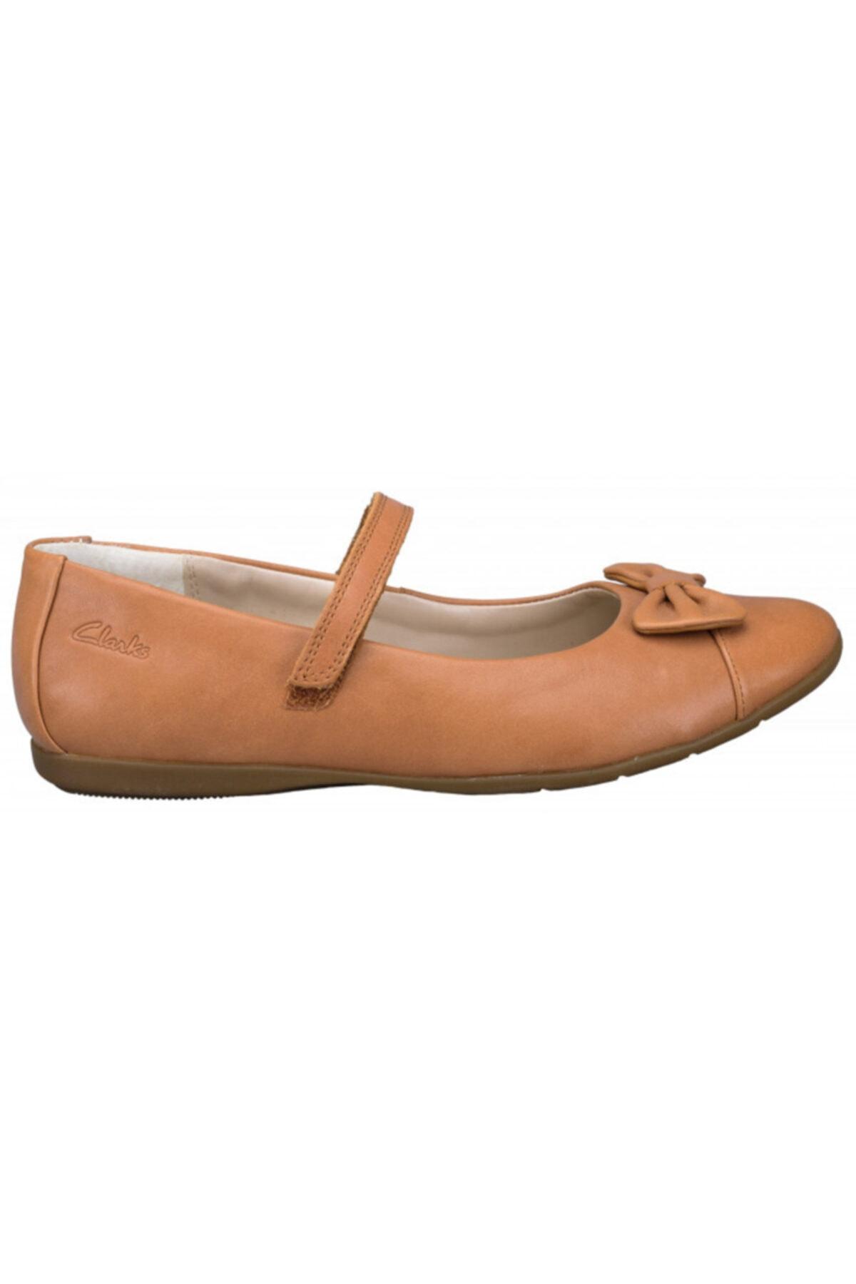 CLARKS Kız 7 Yaş Üstü Babet Ayakkabı Şık Ve Rahat 2