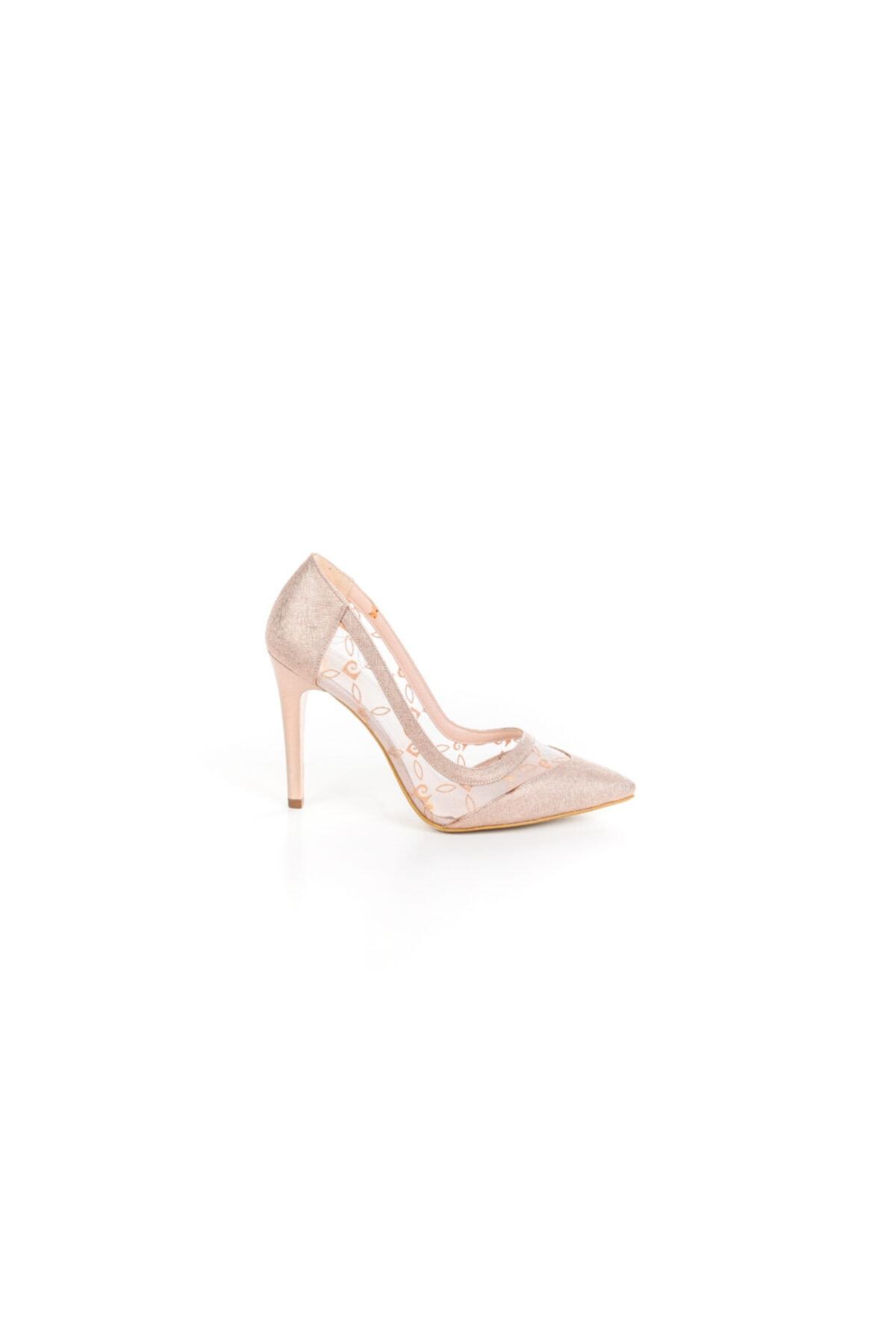 Pierre Cardin Kadın Transparan Stiletto Ayakkabı 2