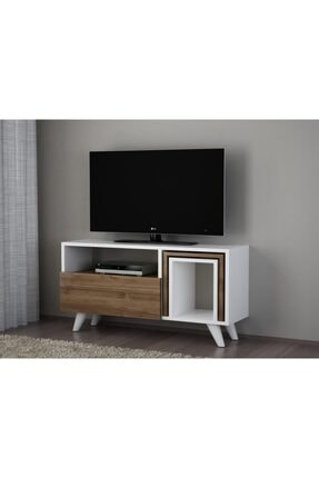 Dekorister Novella K2 Tv Ünitesi Beyaz-ceviz