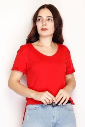 Lukas Penye Tunik Tişört Kırmızı - 1062.275.