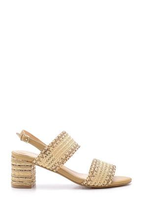 Derimod Kadın Hasır Topuklu Sandalet