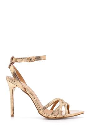 Derimod Kadın Metalik Topuklu Ayakkabı