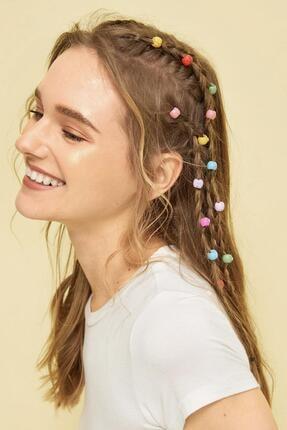 New Obsessions Renkli Saç Örgü Boncuğu