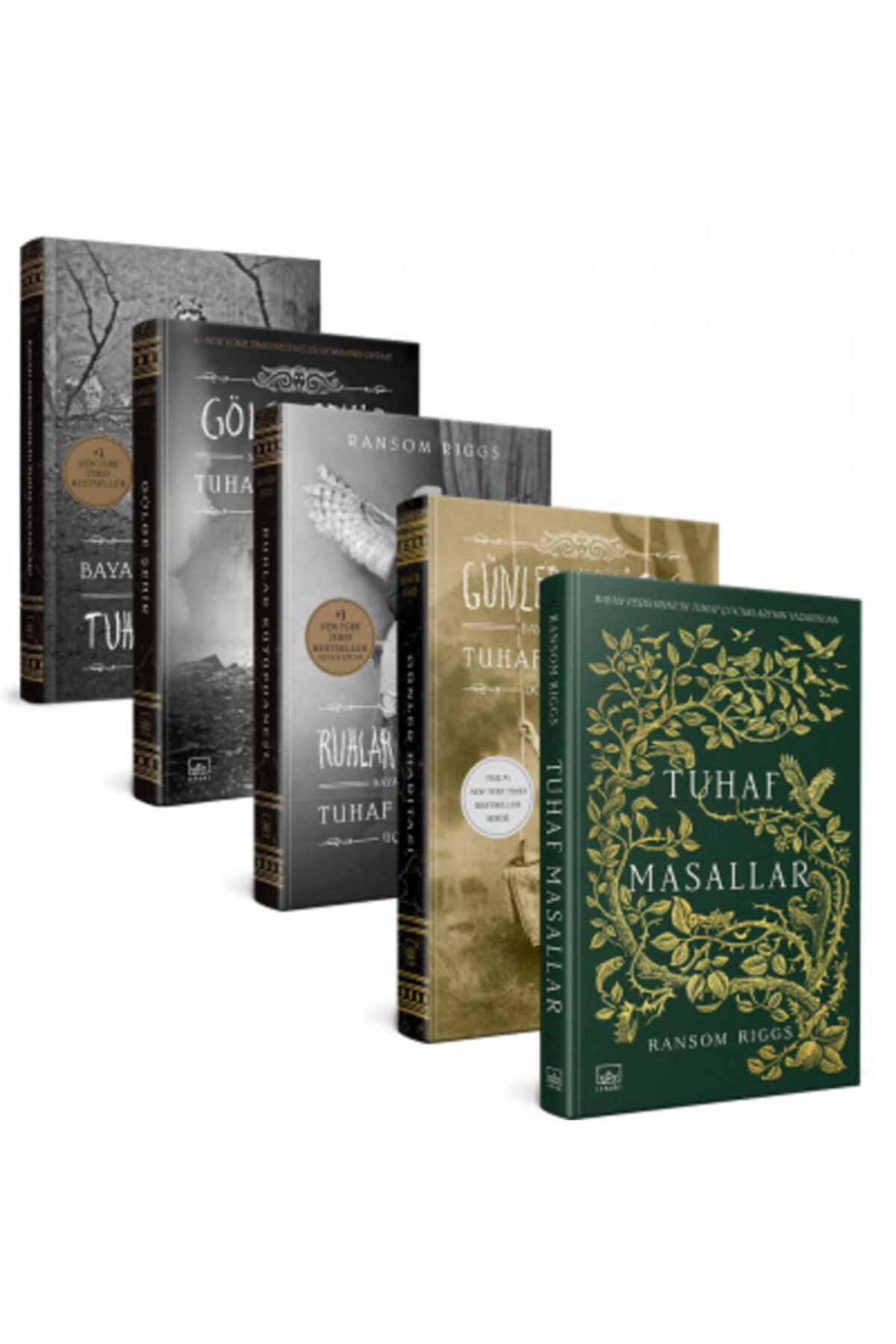 İthaki Yayınları Bayan Peregrine'in Tuhaf Çocukları 5 Kitap Takım 1