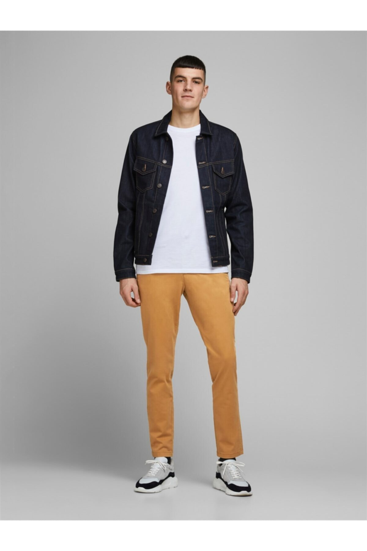 Jack & Jones Jjımarco Jjbowıe Bone Brown Sa 1