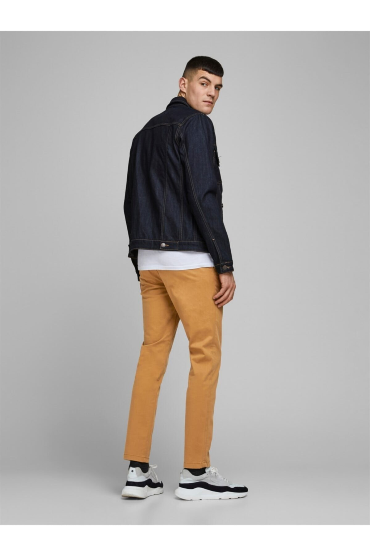 Jack & Jones Jjımarco Jjbowıe Bone Brown Sa 2