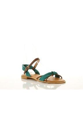Polaris 307525 Mavi - Kadın - Sandalet