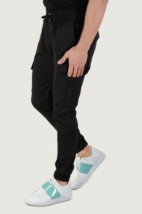 Terapi Men Erkek Kargo Cep Pantolon 20k-2600031 Siyah