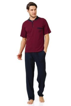 Cicimod 1'li Paket Polaras 6101 Kısa Kol Erkek Pijama Takımı