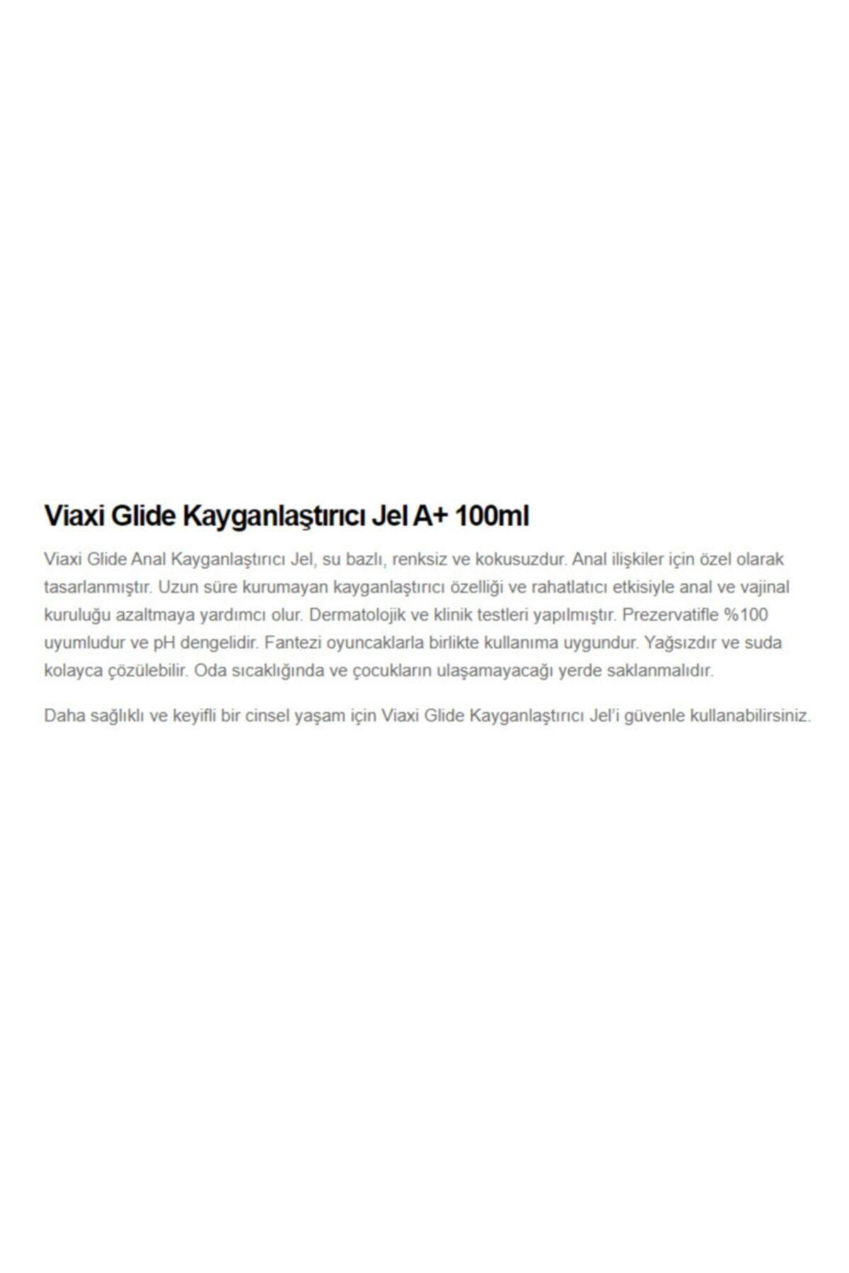 Viaxi Su Bazlı Kayganlaştırıcı Anal Jel 100 ml 2