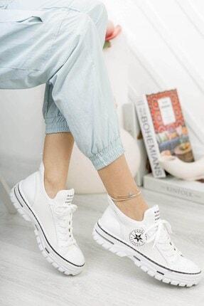 Bitmedeniste Kadın Beyaz Sneaker