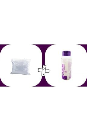 CANSIN Profesyonel Saç Açıcı Oryal Saç Açıcı Tek Kullanımlık Saç Açıcı Toz Lila 30gr 30 Volum Oksidan Cns..