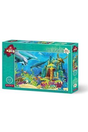 Anatolian Puzzle Çocuk Su Altı Kalesi 150 Parça Puzzle