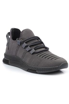 BLACK DEER Performance Ortopedik Yürüyüş Koşu Ve Antrenman Ayakkabısı Füme Bd-pf-01