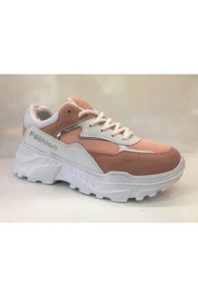 Twingo Kadın  Pudra Beyaz Günlük Spor Ayakkabı