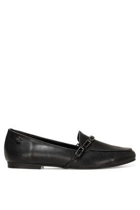 Nine West GENDAR 1FX Siyah Kadın Loafer Ayakkabı 101006363