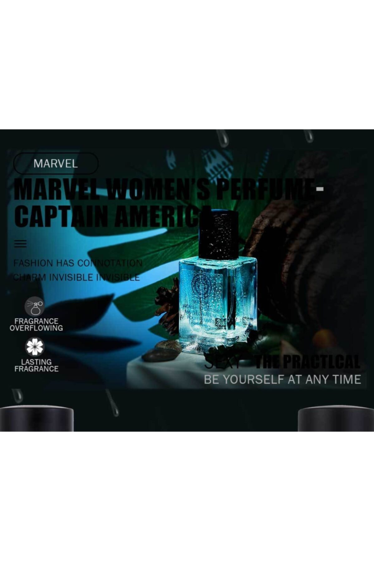 Miniso Mınıso Marvel Kadın Parfüm, Kaptan Amerika 30ml 2