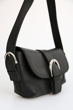 Ekrumoda Siyah Baget Çanta