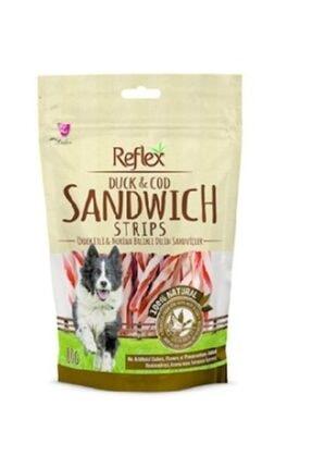 Reflex Plus Reflex Reflex Duck Sandwich Strips Ördek Çubuk Doğal Köpek Ödülü 80 Gr