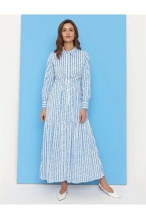 Kayra Kadın Mavi Elbise 83005 Ky-b21 Kyr