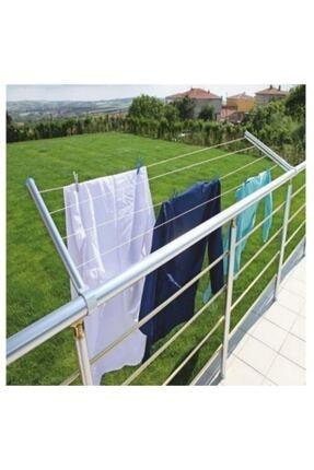 EDEN Balkon Çamaşır Kurutma Askısı Askılığı Yuvarlak Küpeşte