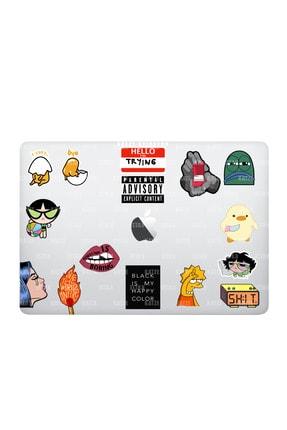 Katze Stickers Mental Art Sanat Temalı Laptop Notebook Tablet Sticker Seti 15 Adet