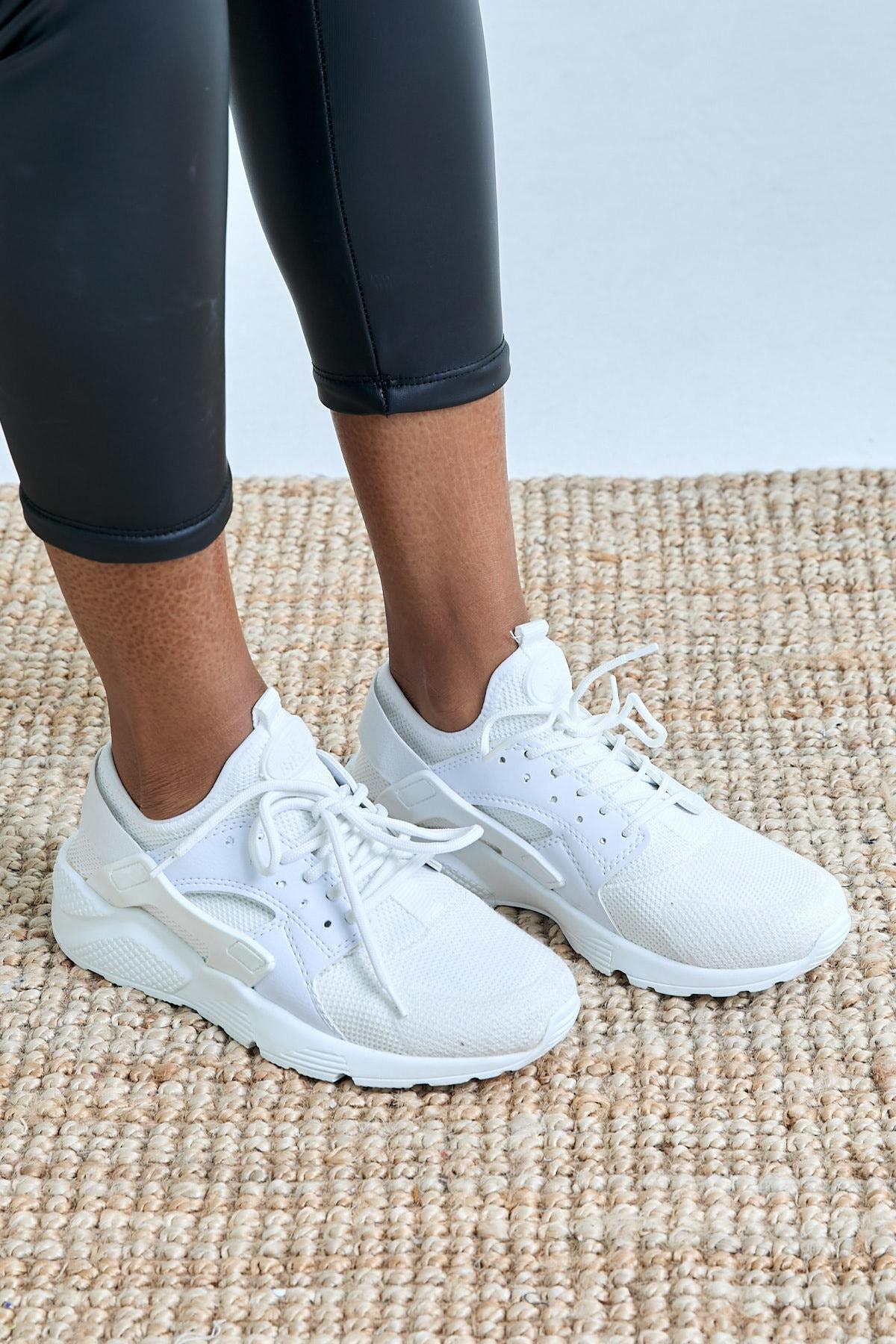 Tonny Black Beyaz Unisex Sneaker HRC-Q-0 1