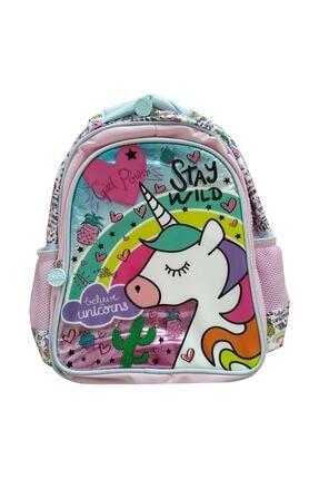 Frocx Kız Çocuk Renkli Lisanslı Unicorn İlkokul Çantası 5635