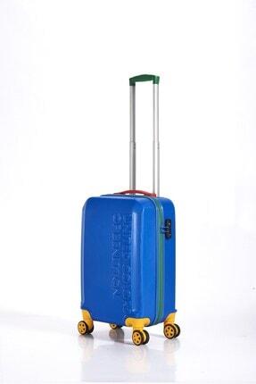 Benetton Valiz Denım Blue Kabin Boy Bnta203x Abs