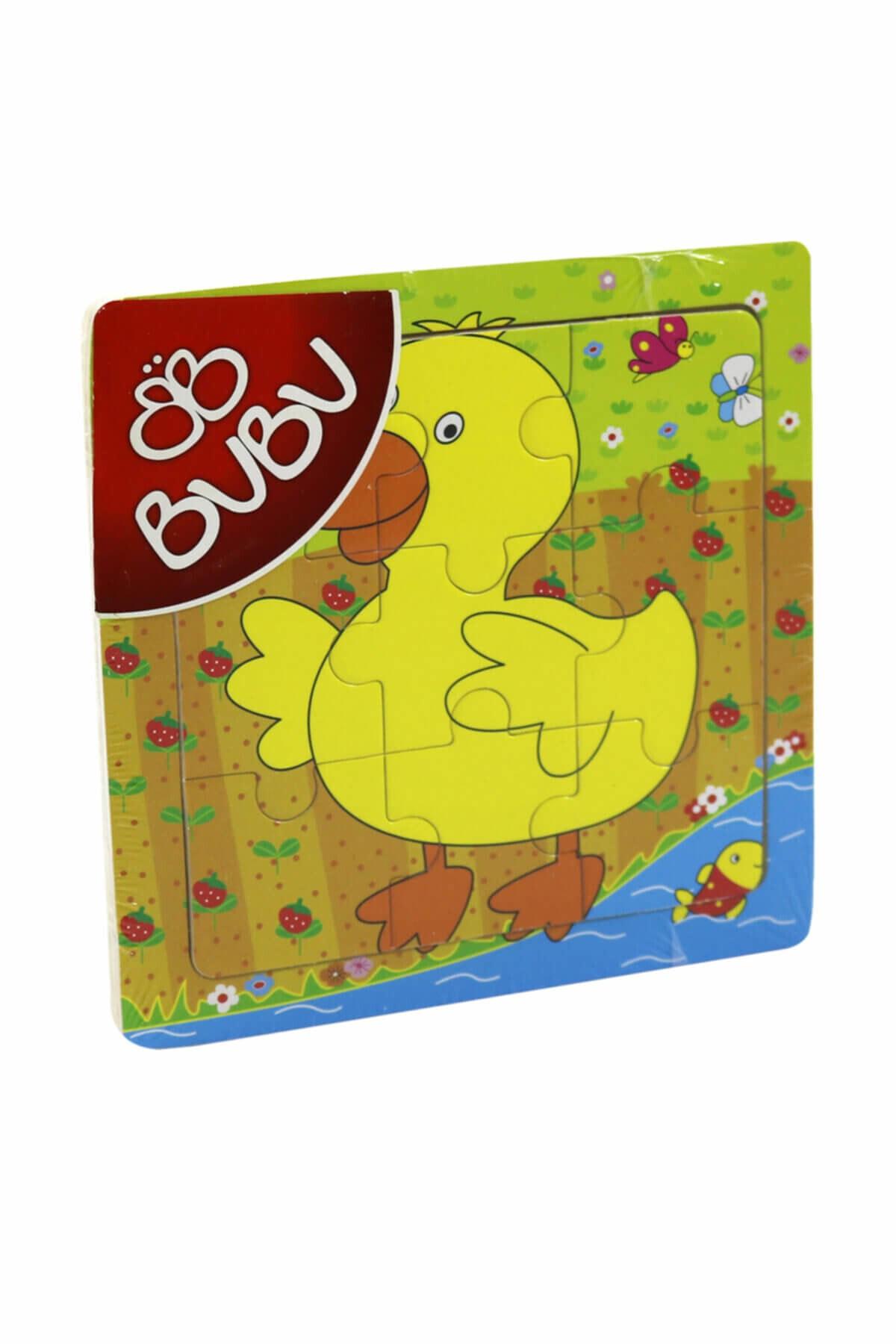 Bubu Ahşap Puzzle 15x15 Cm. 9 Parça 1