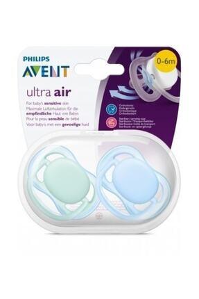 AVENT Ultra Air Renkli Emzik 0-6 Ay Erkek