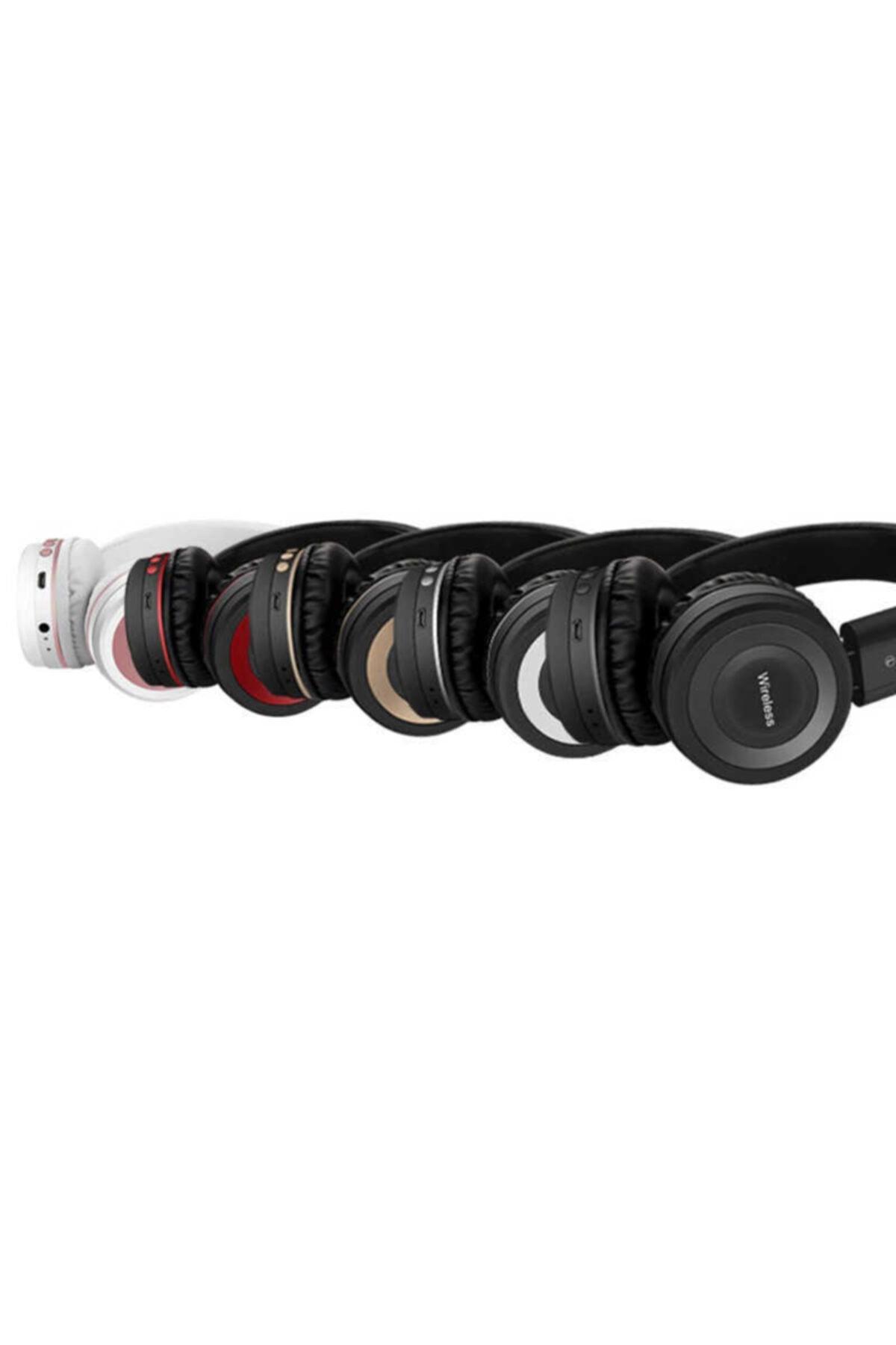 zore Bluetooth Kulaklık Kulaküstü Headset Kablosuz Kumandalı Mikrofonlu Kulaklık 2