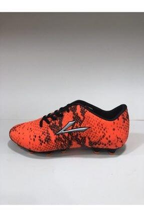 LIG Fosfor Turuncu Krampon Spor Ayakkabı