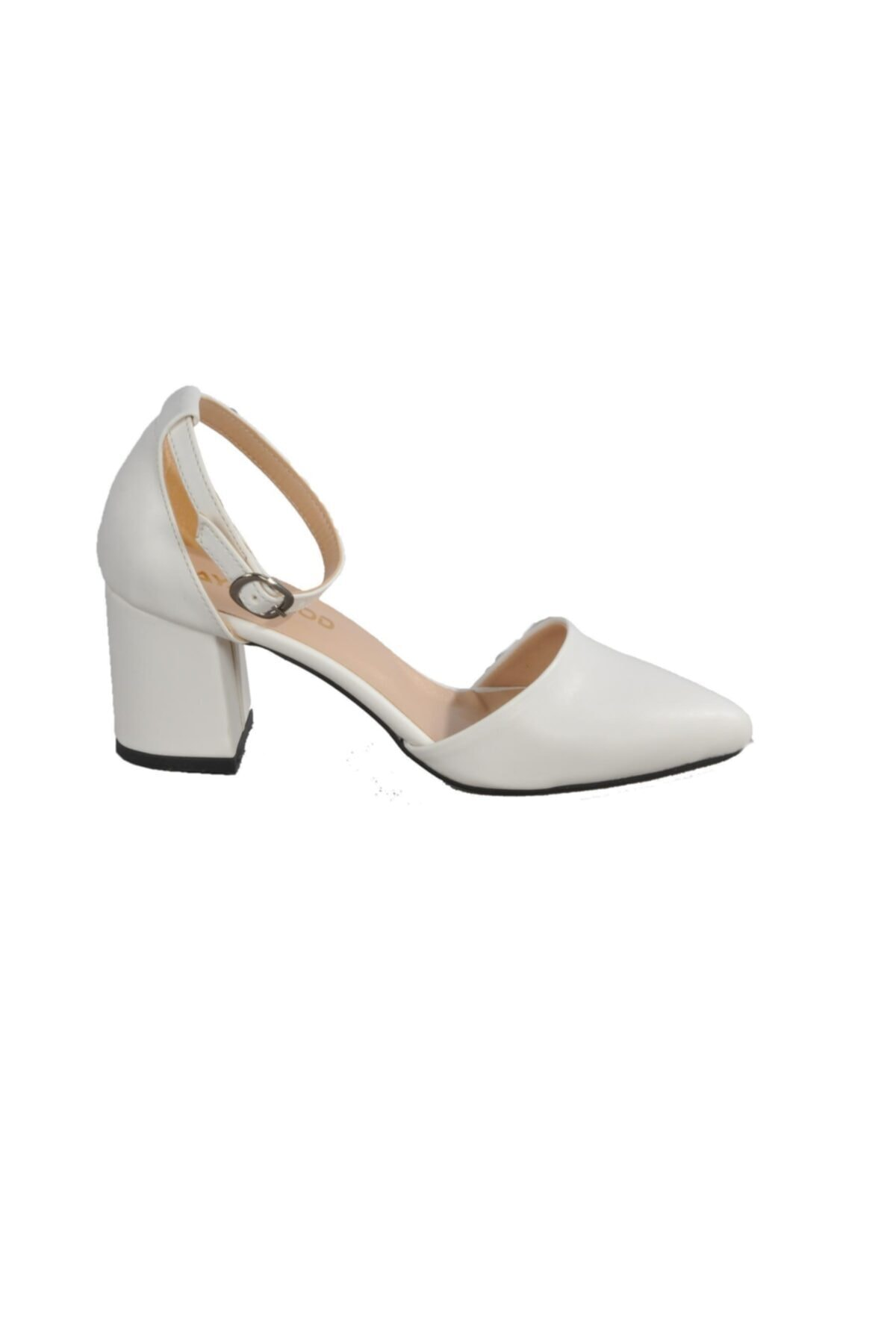 Maje Kadın Beyaz Topuklu Ayakkabı 2