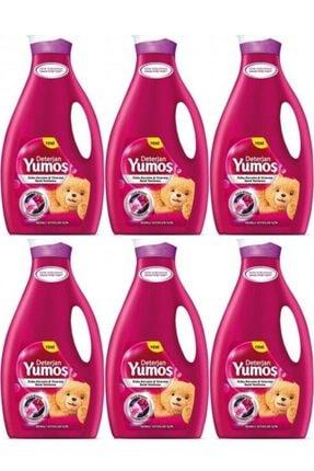 Yumoş Sıvı Çamaşır Deterjanı Renkli Giysiler 2.52 ml 6 adet