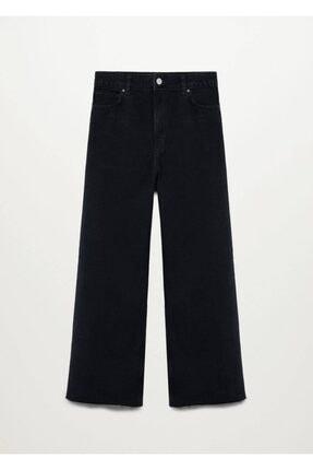 MANGO Woman Yüksek Bel Culotte Jean Pantolon
