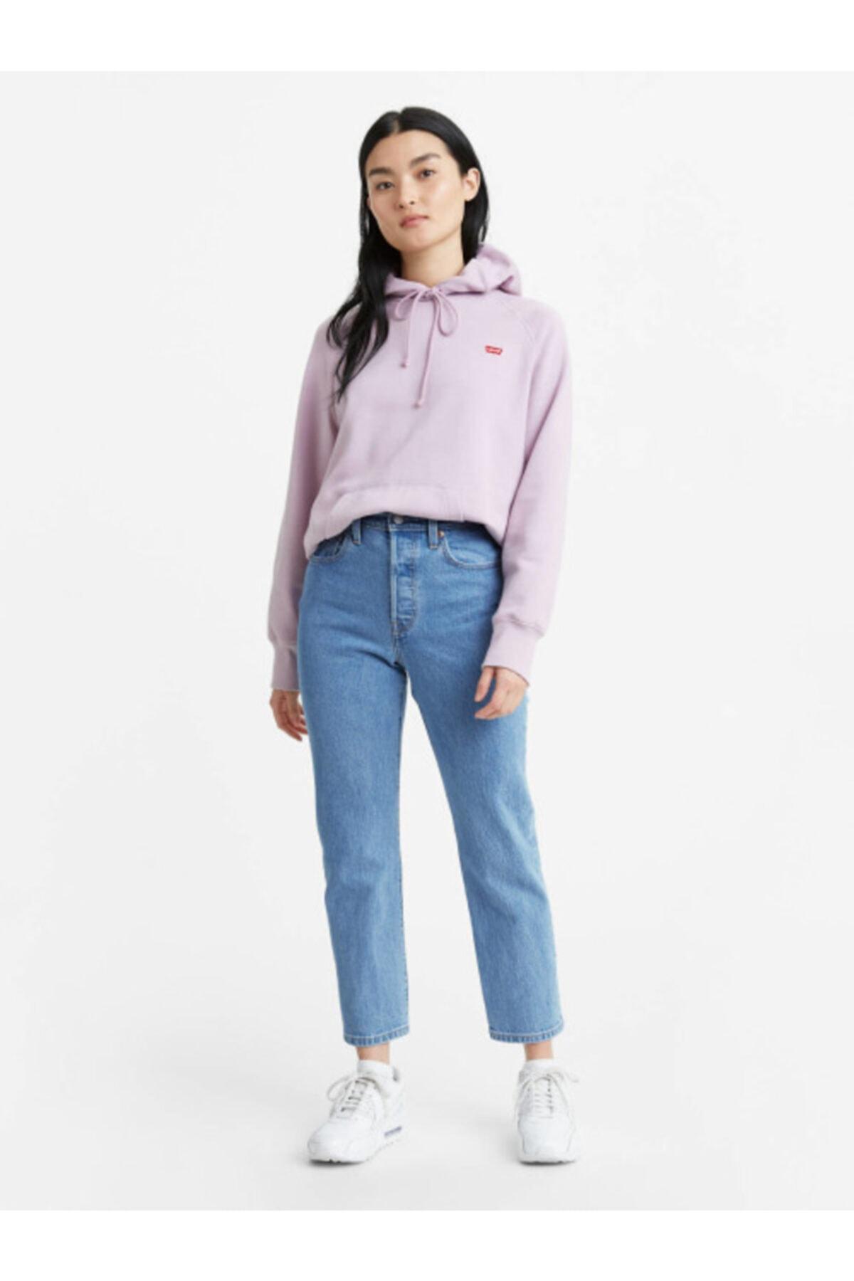 Levi's Kadın Mavi Yüksel Bel Jeans 1